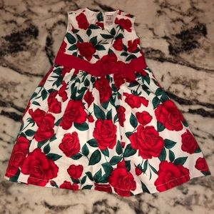 Toddler rose dress